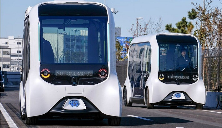 Toyota restarts driverless vehicles after accident