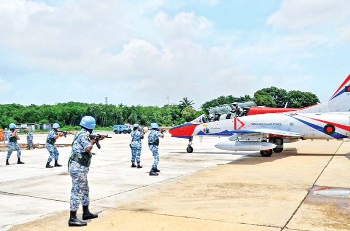BAF air defence exercise 'ADEX 2021-2' held