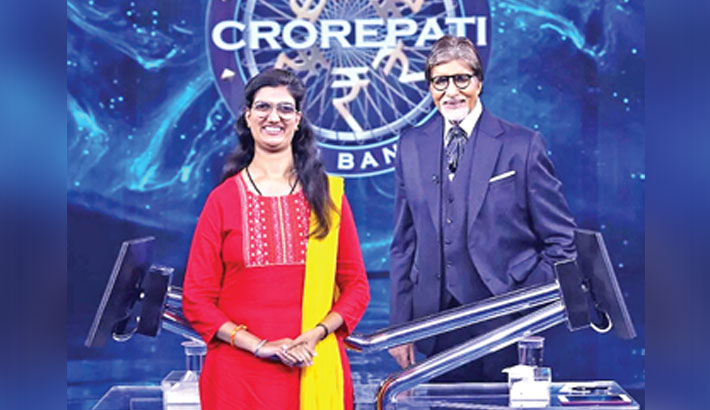Visually impaired Himani wins Rs 1cr on KBC 13
