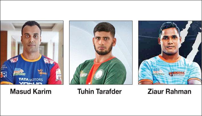 Three Bangladeshi players picked for Pro Kabaddi League