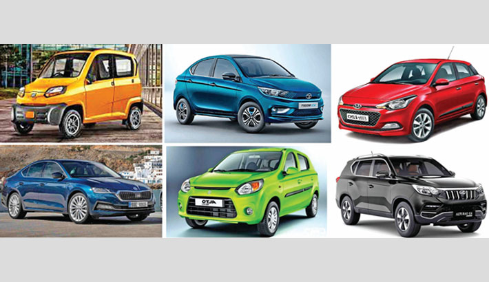 India's 6 auto cos total sales up in August