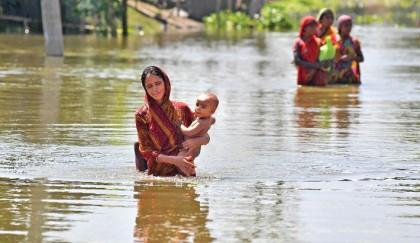 Torrential rains wreak havoc Bihar, Assam