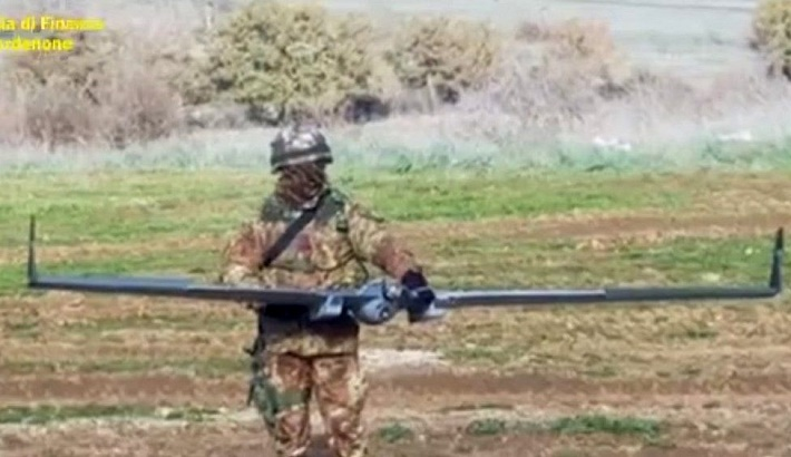 China linked to takeover of Italian drone plant