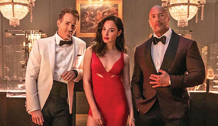 Dwayne, Reynolds, Gadot star in Netflix's next