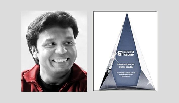 Bashundhara Group VC Shafiat Sobhan receives int'l award for business leadership