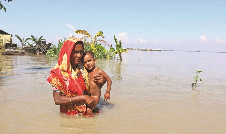 Sufferings of flood victims mount