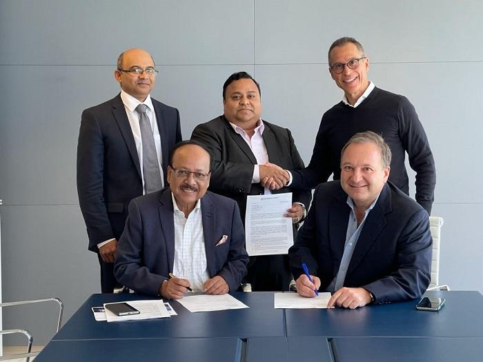 MoU signed between Padma Bank and DelMorgan & Co