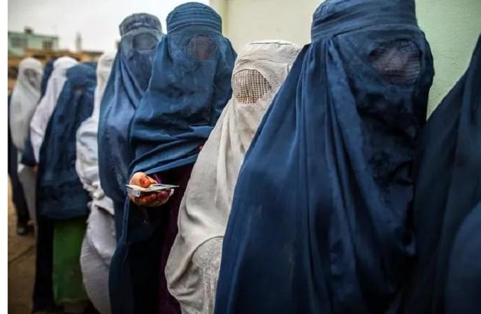 Women stage protest in Herat, demands representation in Afghanistan's new govt