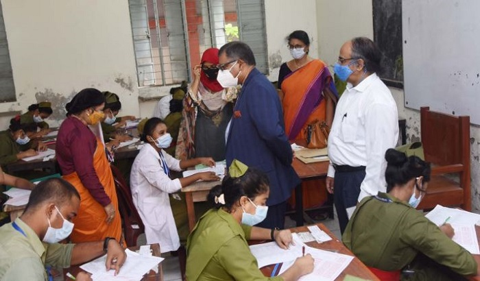 Over 80 pc teachers, students of medical education vaccinated: Maleque