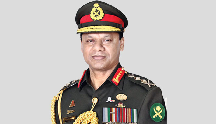 Army chief off to India on 3-day official visit