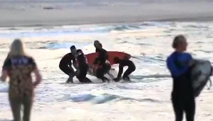 Man dies in shark attack at Australian beach