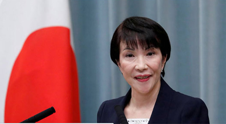 New contender in Japan ruling party race seeks to be first female PM