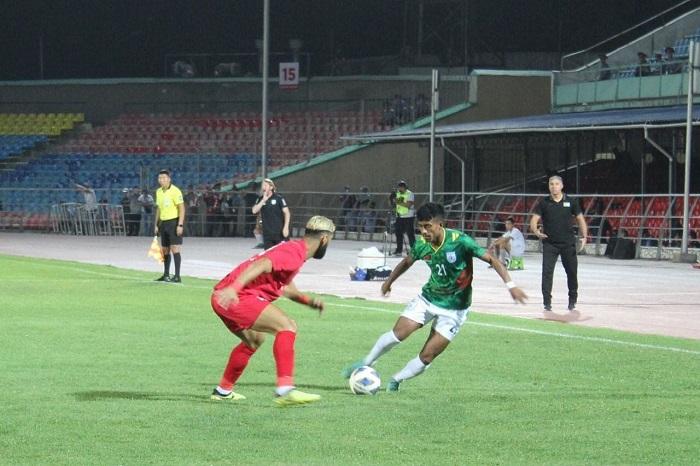 Bangladesh fail to avoid defeat against Palestine
