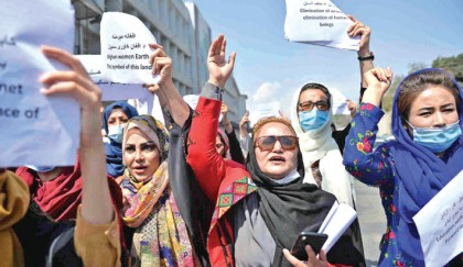 Afghan women vow to protest against Taliban