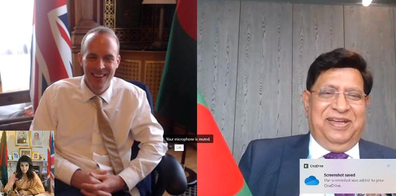FM urges UK to remove Bangladesh from Covid red-list