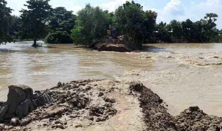 Seven villages in Feni flooded as embankment collapses