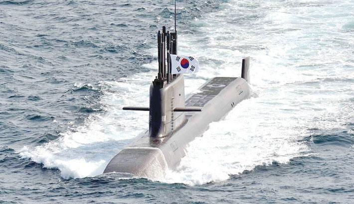 S Korea test-fires homegrown SLBM