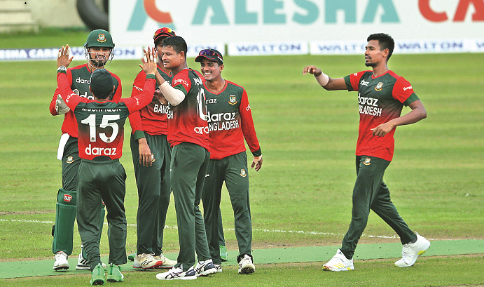 Mamudullah answers his critics with on-field results