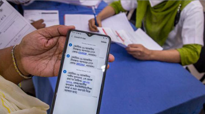 Overwhelming registration causing delays in vaccine SMS : DGHS