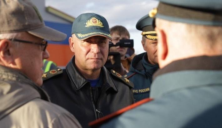 Russian emergencies minister Zinichev dies on Arctic drill