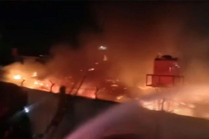 Indonesian prison fire kills 41