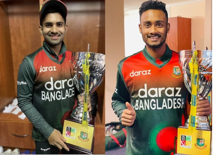 U-19 champs Shamim, Shoriful in mix for Tigers' World Cup voyage