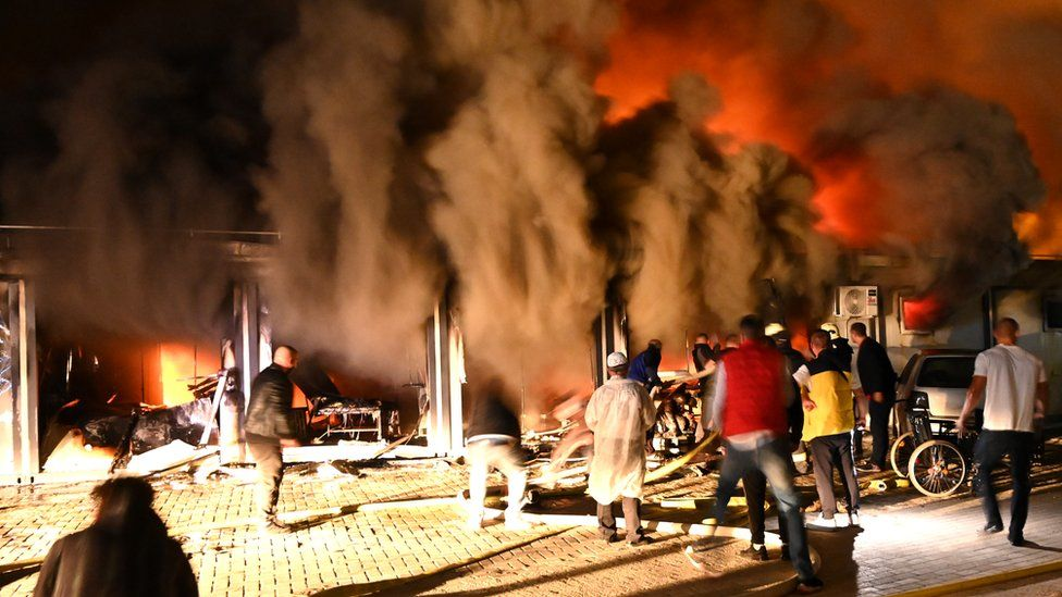 10 dead in fire at Covid hospital in North Macedonia
