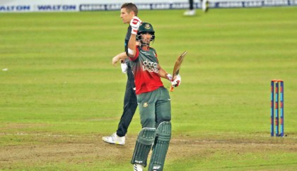 Landmark T20 series win