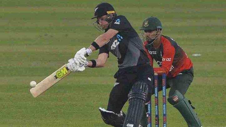 New Zealand bat against Bangladesh in fifth T20