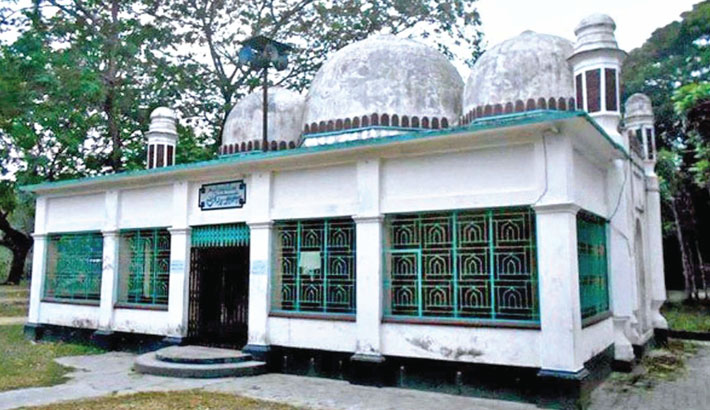 Construction of mosque is a charity