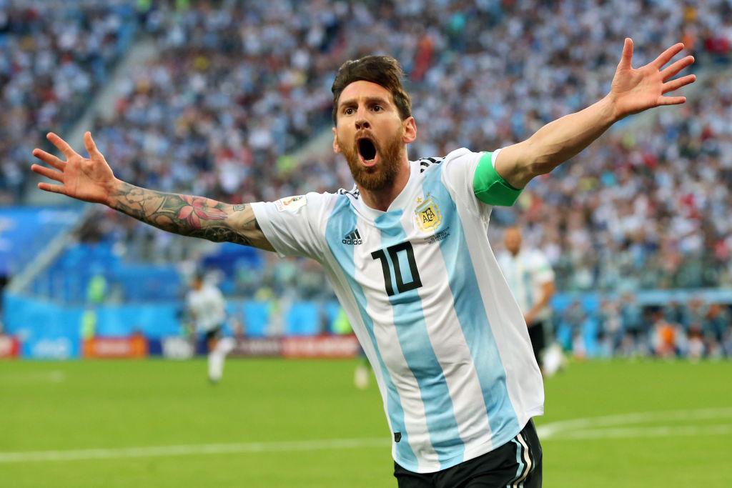 Messi treble breaks Pele record as Argentina rout Bolivia