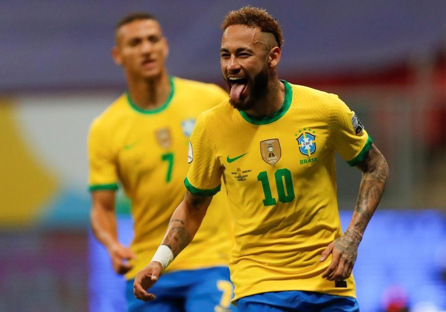Ribeiro, Neymar seal 2-0 win as Brazil maintain top spot in FIFA World Cup Qualifiers