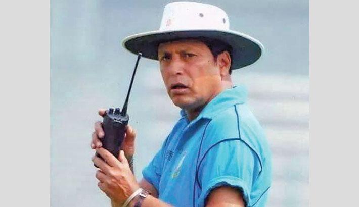 Veteran umpire Nadir Shah no more