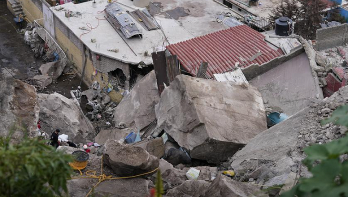 At least 1 dead, 10 missing in landslide near Mexico City