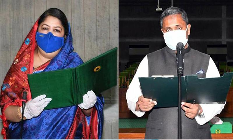 New-elected lawmaker from Sylhet-3 Habibur Rahman takes oath