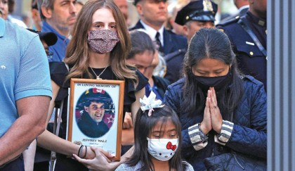 World leaders remember 9/11 victims, survivors