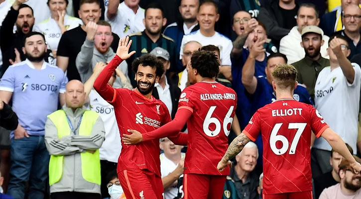 Elliott injury overshadows Liverpool's win at Leeds
