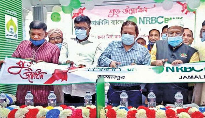 NRBC Bank opens banking services at Jamalpur