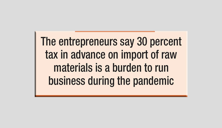 SMEs want tax cuts on import of raw materials