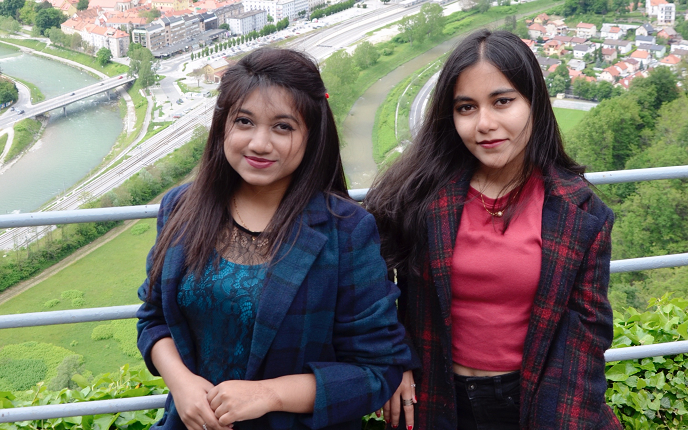Two IUB students awarded the prestigious Erasmus+ Scholarship to study for a semester in Europe