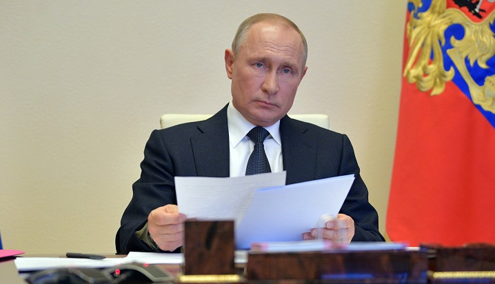 Putin to self-isolate over coronavirus cases in inner circle