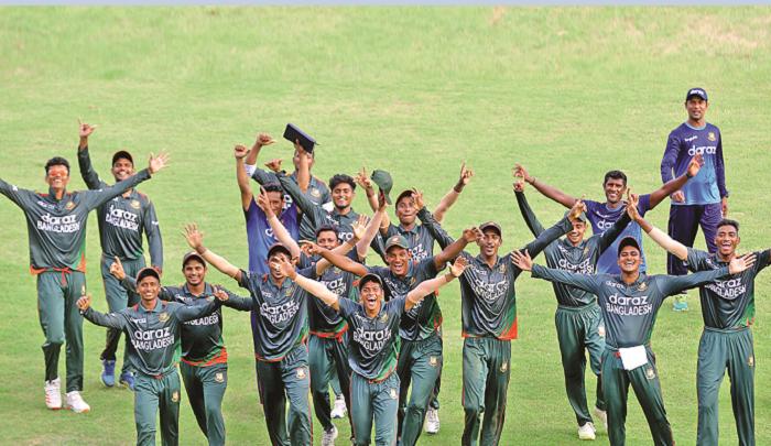 Aich, Naimur shine as U-19 team completes series win