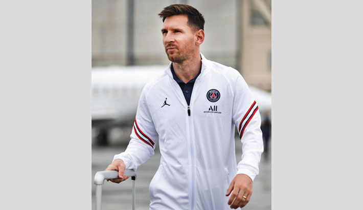 Messi set for PSG Champions League bow