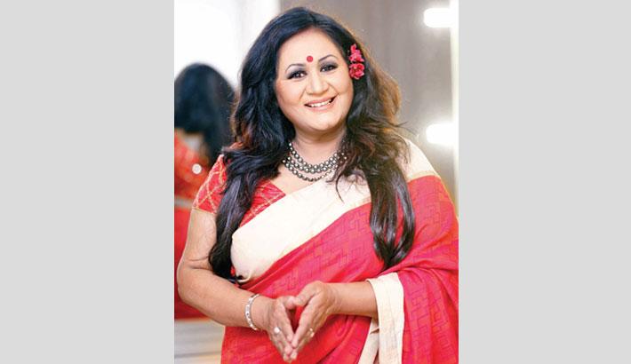 Fahmida Nabi lends voice to a new song
