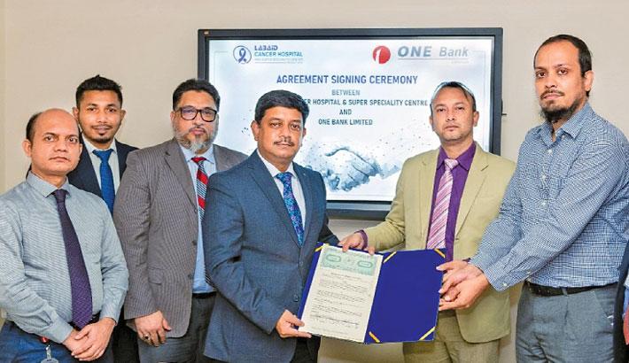 ONE Bank, Labaid Cancer Hospital ink deal