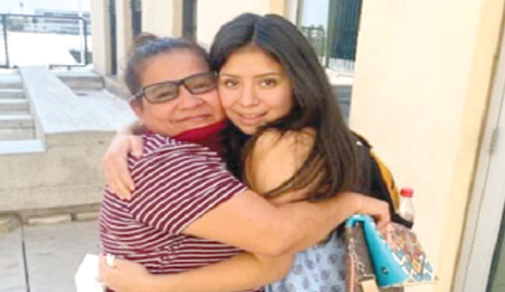 Missing girl re-unites with mother after 14yrs