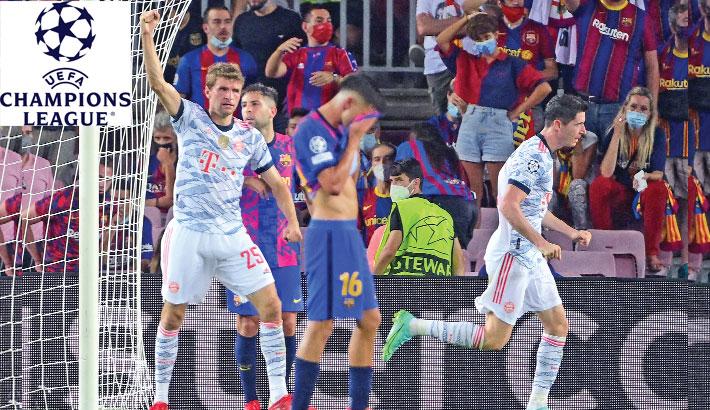 Man Utd dealt shock loss as Bayern humiliate Barca