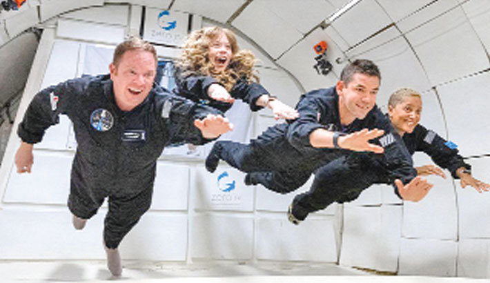 Amateur astronauts set for SpaceX orbital flight