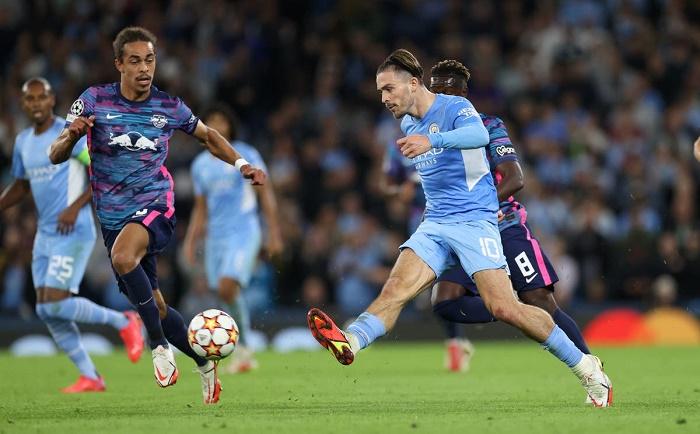 Grealish stars as Man City hit Leipzig for six