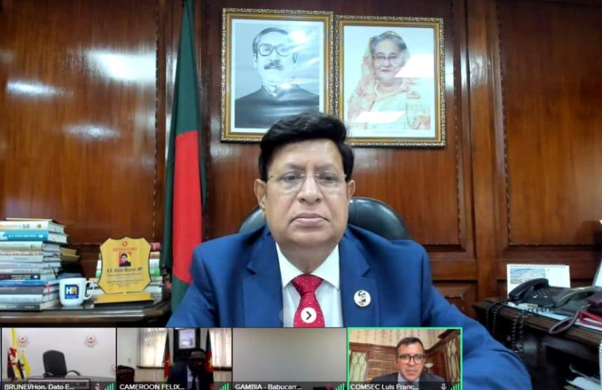 FM seeks Commonwealth solidarity for smooth repatriation of Rohingyas